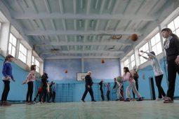 Renovarea sălii de sport în Crihana Veche