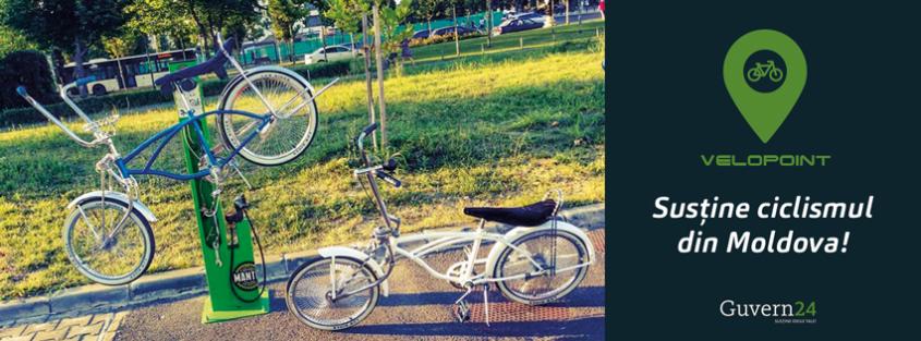 Susține montarea unui Bike Stand în premieră în parcul Valea Morilor
