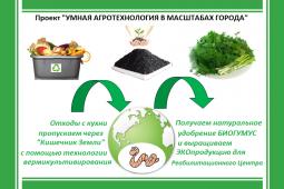 Умная агротехнология в масштабах города