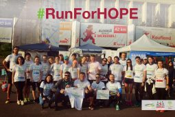 Support those who #RunForHOPE!