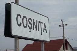 Coșnița – centrul satului amenajat
